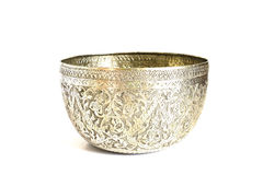 Silver bowl Stock Photos