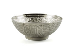 Silver Bowl Royalty Free Stock Photo