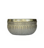 Silver bowl or Khanngoen. The Silver bowl or Khanngoen Stock Images