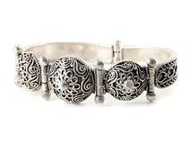 Free Silver Bracelet Royalty Free Stock Photography - 13169747