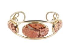 Silver bracelet Stock Image