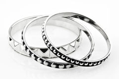 Silver Bracelet 2 Stock Image