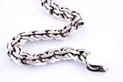 Silver bracelet I Royalty Free Stock Photography