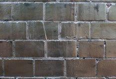 Silver brick wall Royalty Free Stock Photography