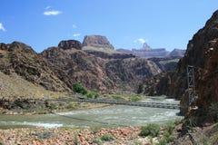 Silver bridge, Grand Canyon Stock Image