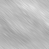Silver Brushed Metal Royalty Free Stock Photos