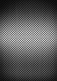 Silver brushed metal grid background texture Stock Images
