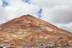 Silver bryter av Cerro Rico Fotografering för Bildbyråer