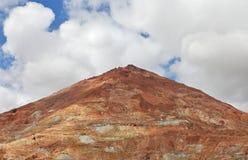 Silver bryter av Cerro Rico Arkivbild