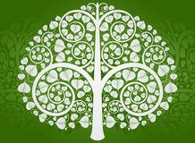 Silver Buddha Tree Royalty Free Stock Photography
