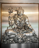 Silver buddhism sculpture,chiang mai,Thailand Royalty Free Stock Photos