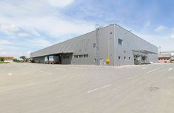 Warehouse building Stock Images