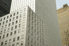 Silver Building NYC Royalty Free Stock Image