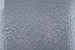 Silver bultad metallbakgrund, abstrakt metallisk textur, ark av metallyttersida som målas med hammaremålarfärg Royaltyfria Foton