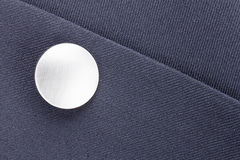 Silver Button Stock Image