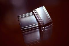Silver buttons Royalty Free Stock Photos