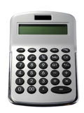 Silver Calculator Royalty Free Stock Images