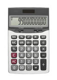silver calculator Stock Image