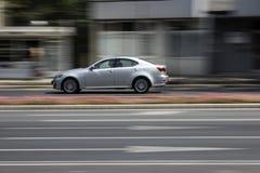 Silver car Royalty Free Stock Photos