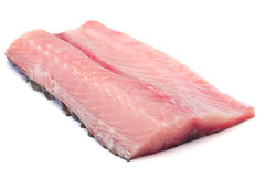 Silver carp fillet Royalty Free Stock Image