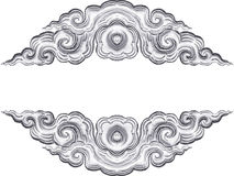 Silver carve Stock Images