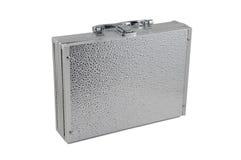 Silver case Royalty Free Stock Photos