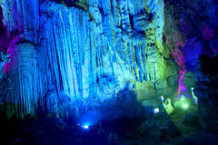 Silver cave guangxi province china Royalty Free Stock Images