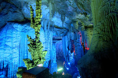 Silver cave guangxi province china Royalty Free Stock Photos