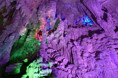 Silver cave guangxi province china Royalty Free Stock Photo