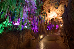 Silver cave guangxi province china Royalty Free Stock Image