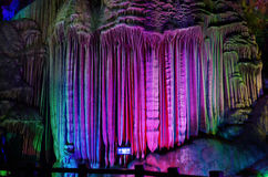 Silver Cave in GuiLin,China Stock Images