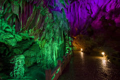 Silver cave yangshuo guangxi province stock photo