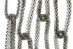 Silver Chain Royalty Free Stock Photo