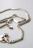 Silver chain Stock Photos