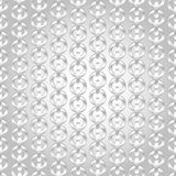 Silver chain seamless abstract pattern Stock Image
