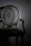 Silver Chair Royalty Free Stock Images