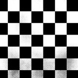 Silver chessboard Stock Image