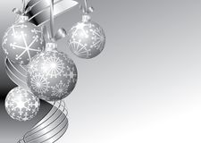 Silver Christmas Royalty Free Stock Image
