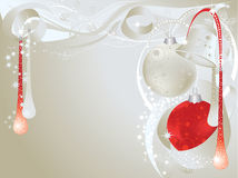 Silver christmas Stock Images