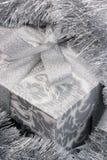 Silver Christmas Stock Photography