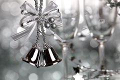 Silver Christmas Royalty Free Stock Photo