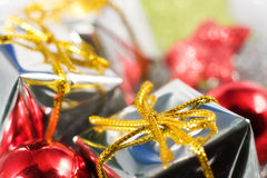 Silver christmas Royalty Free Stock Image