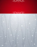 Silver christmas background,  Royalty Free Stock Photos