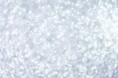 Silver christmas glitter background. Silver christmas glitter abstract background royalty free stock photography