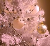 Silver Red Colorful Modern Christmas tree with colorful decoration modern Elements of holiday,Happy new yea
