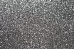 Silver Christmas lights. royalty free stock image