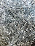 Silver tinsel Stock Photos