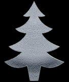 Silver Christmas  Tree Stock Photos