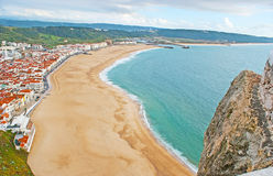 The Silver Coast of Portugal Stock Photos