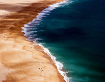Silver Coast Portugal Stock Image